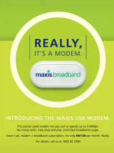 MAXIS USB Modem